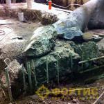 Фортис-Строй. Разрушение по технологии ГДШ (Газогенератор давления шпуровой)