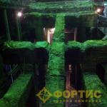 Фортис-строй. Гайский ГОК. Демонтаж фундамента флотационной машины обогатительной фабрики