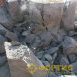Разборка фундаментов здания обогатительной фабрики Челябинская область. ГК Фортис