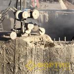 Разборка бетонных конструкций воротника шахтного ствола ООО «Башкирская медь». УГМК-Холдинг. ГК Фортис